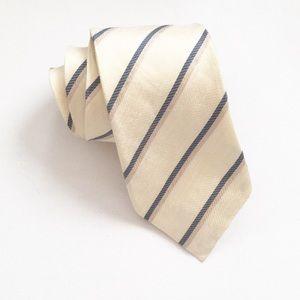 BANANA REPUBLIC Tie Silk-Linen Blend Men's Necktie